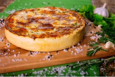 Вкусно как Дома - Киш с грибами, курицей и сыром