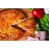 Вкусно как Дома - Пирог с болгарским перцем, копченой грудинкой, сыром и томатом
