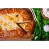 Вкусно как Дома - Пирог с творогом и зеленым луком