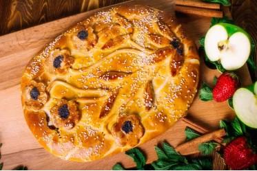 Пирог фруктовый (ассорти)