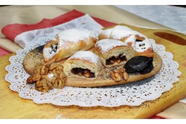 Пеленашка с черносливом и грецким орехом