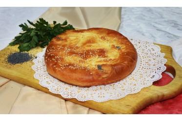 Вкусно как Дома - Пирог с жареной курочкой, луком, картофелем и грибами
