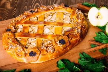 Вкусно как Дома - Пирог с яблоком