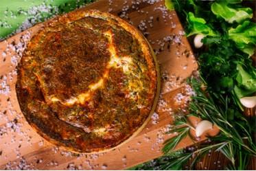 Киш с помидором и сыром фета